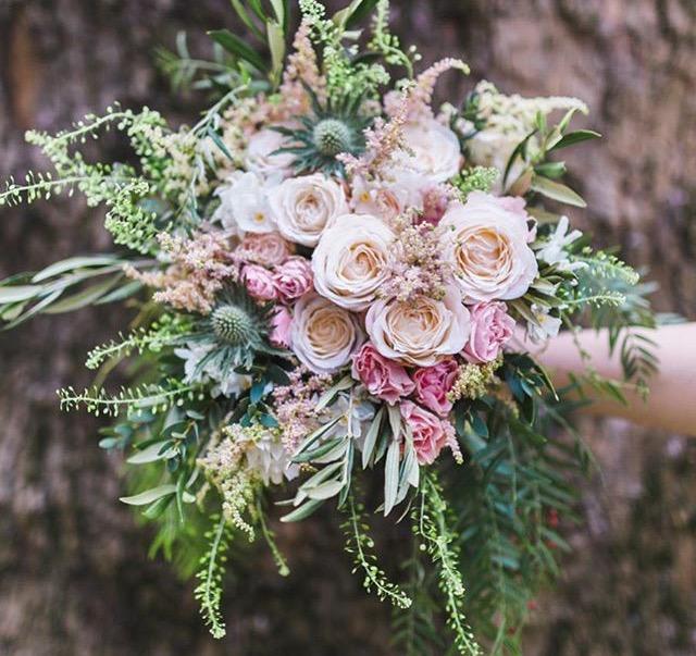 Los tipos de flores para ramos de novia más utilizados