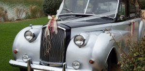 coche clásico boda
