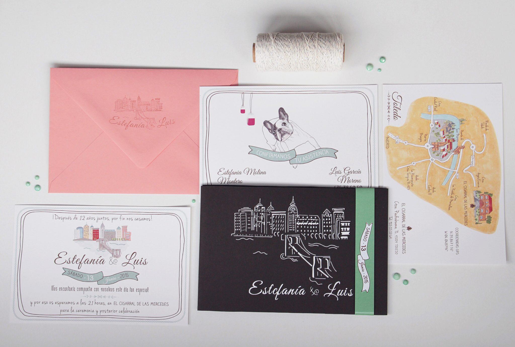 Tips para elegir tus invitaciones de boda
