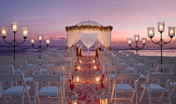 Casarse en la playa