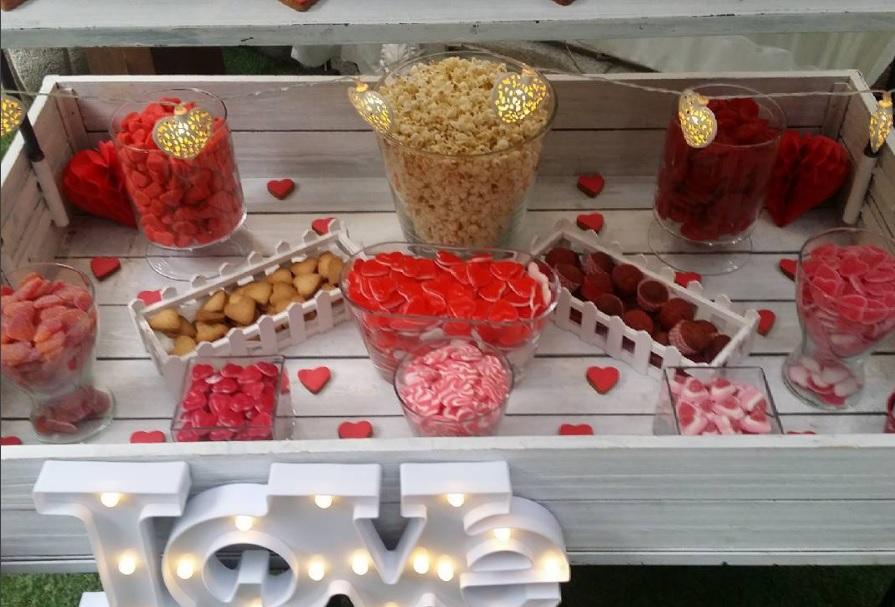 Candy Bar para Bodas Victoria