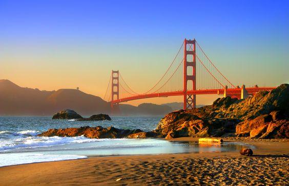 Destinos de Luna de Miel Golden Gate