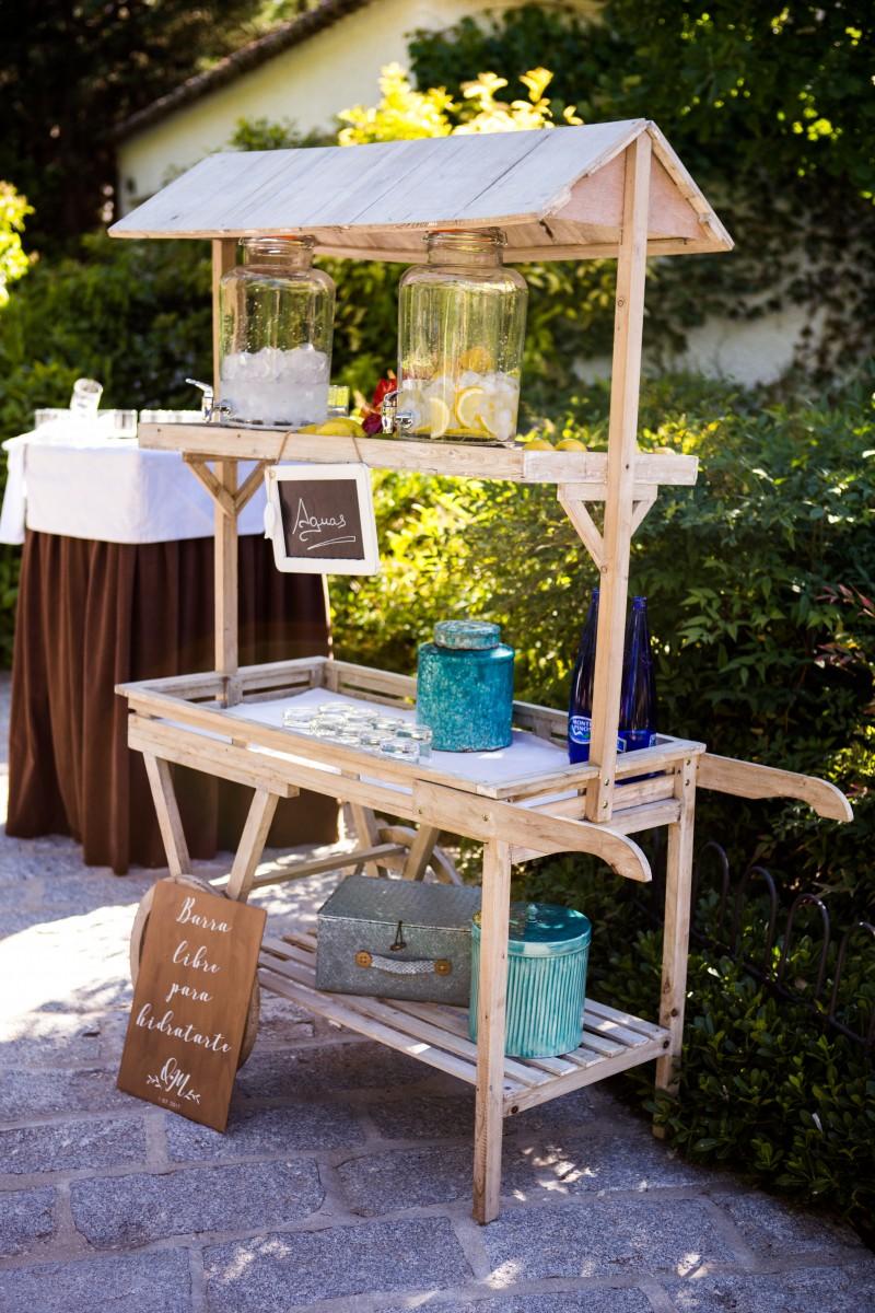 Corner limonada boda