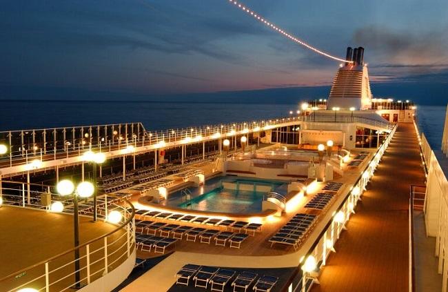 Luna de miel a bordo de un crucero