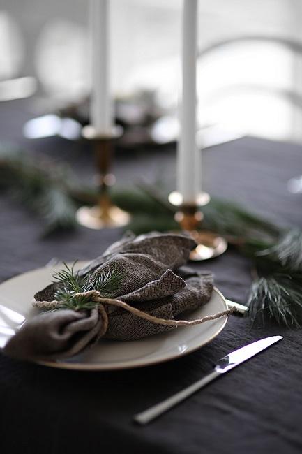 Inspiración para mesas de Navidad