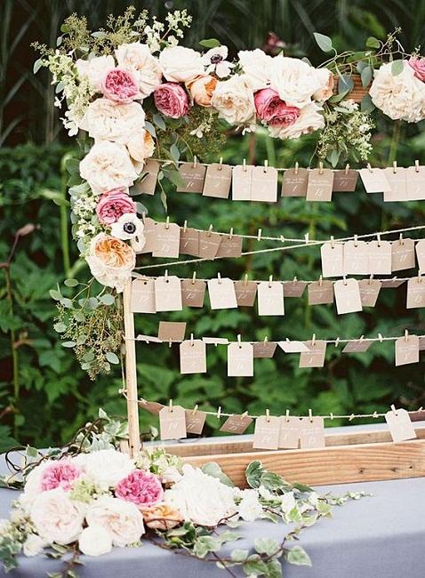 El seating plan que siempre has querido para tu boda